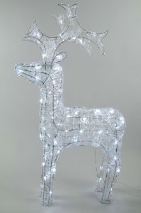 Led Outdoor Acrylic Reindeer