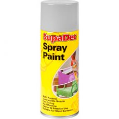 Supadec Spray Paint 400Ml Grey Undercoat