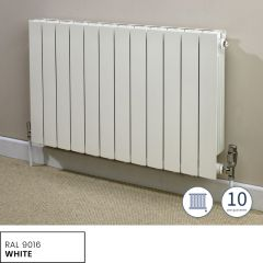 Hanworth Horizontal 8 Sections White