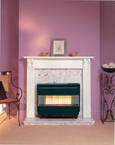 Robinson Willey Firegem Visa Highline High Line Natural Gas Fire Black