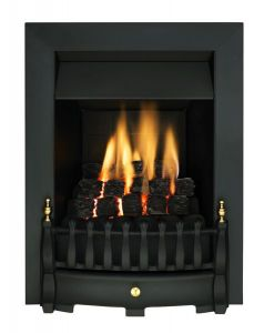Valor Blenheim Slimline Gas Fire Black