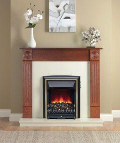 Be Modern Darras Eco Fire Warm Oak/Marfil Black