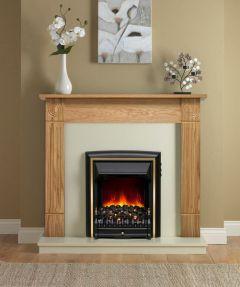 Be Modern Darras Eco Fire Natural Oak/Marfil Black