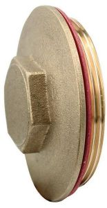 Midland Brass Immersion Heater Plug With Washer 2.1/4