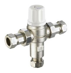 Reliance Water Controls Heatguard 2 In 1 Dualthermostatic Mixing Valve 22Mm