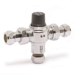 Saracen Tmv2/3 2 In 1 Thermostatic Mixing Valve 15Mm