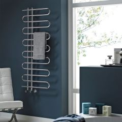 Nabis Karly Towel Warmer 1200 X 500Mm Chrome