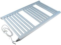 Center Cb Electric Straight Towel Warmer 1200 X 600Mm White