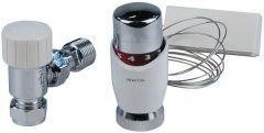 Drayton Trv4 Angled Trv And Remote Sensor 2M 15Mm