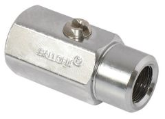 Pegler Yorkshire Ballofix 3350Ya Female X Female Valve 1/2 Chrome Plated