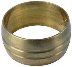 Midland Brass Copper Compression Ring 28Mm