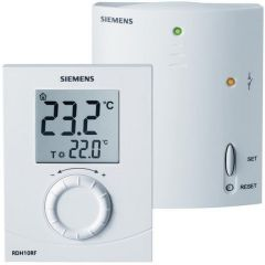 Siemens Easy Electronic Room Thermostat Rf Plus Receiver With Tpi