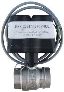 Esbe Ess-2291N-230V-032 2 Way Valve And Actuator 1 1/4 230V
