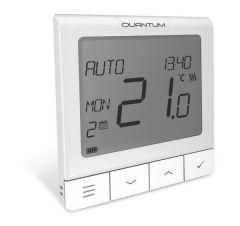 Salus Quantum Slim Wired Thermostat Opentherm+