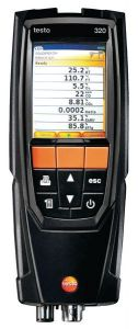 Testo 320B Multi-Function Flue Gas Analyser With Colour Graphic Display And Memory Advanced Kit