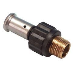 Pegler Yorkshire Henco 17Pk Mlcp X Male Iron Connector 16Mm X 1/2