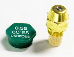 Danfoss H04921l 80Deg Es-Type Kerosene Nozzle 00.55