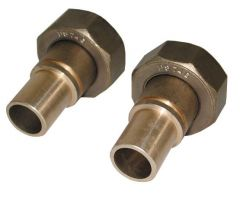 Brass Fittings And Supplies Gas Meter Union With Washers 1 X 22Mm