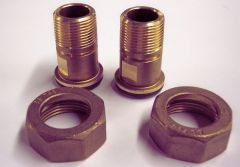 Brass Fittings And Supplies Gas Meter Union (Bsp) 1 X 3/4
