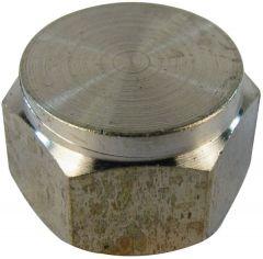 Primaflow 250 1/4 Stop Cap Brass