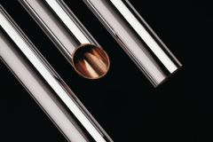 Yorkshire Yorkex Copper Tube 42Mm X 3M Chrome