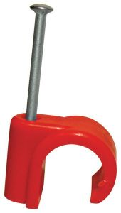 Talon Nail-In Hot Indent Clip 22Mm Red