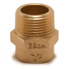 Pegler Yorkshire Yp3 Straight Male Iron Connector 54Mm X 2