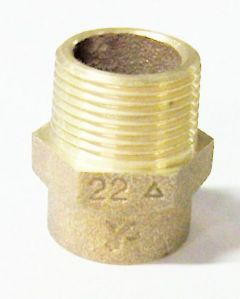 Pegler Yorkshire Yp3 Male Iron Straight Connector 22Mm X 3/4