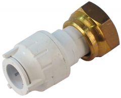 Polypipe Polyfit Fit71534 Straight Tap Connector 15Mm X 3/4