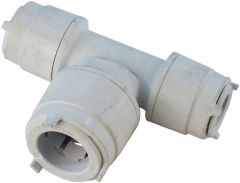 Polypipe Polyfit Fit1622 Two Ends Reduced Tee 15 X 15 X 22Mm