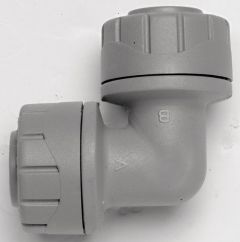 Polypipe Polyplumb Pb128 90Deg Elbow 28Mm