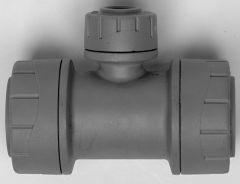 Polypipe Polyplumb Pb1115 Reduced Branch Tee 15 X 15 X 10Mm