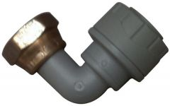 Polypipe Polyplumb Pb1715 Bent Tap Connector 15Mm X 1/2