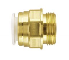 Jg Speedfit Brass Male Coupler (Bspt) 15Mm 1/2