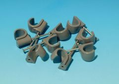 Hep2o Hx65 Pipe Clips Cable 15Mm