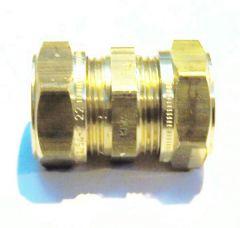 Kuterlite Ks610 Straight Coupling 22 Mm