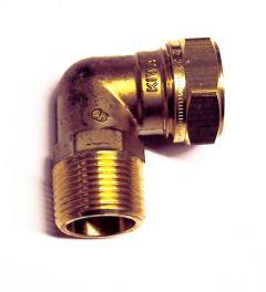 Pegler Yorkshire Kuterlite K616 90Deg Male Elbow 22Mm X 3/4