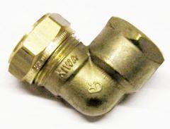 Pegler Yorkshire Kuterlite K917 90Deg Female Elbow 22Mm X 3/4