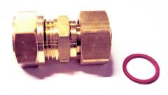 Pegler Yorkshire Kuterlite K926 Straight Swivel Tap Connector 15Mm X 1/2
