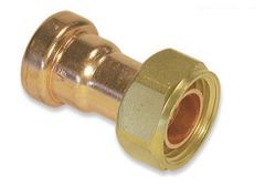 Tectite Sprint Tt62 10X1/2 Straight Tap Connector