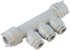 Polypipe Polyfit Fit7322104 4 Port Manifold 22 X 10Mm