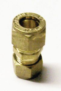 Center Cb Compression Straight Reducing Coupling 15 X 8Mm