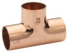 Center Cb End-Feed Equal Tee 42Mm