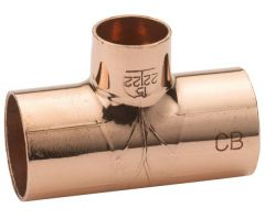 Center Cb End Feed Reducer Tee 54 X 54 X 15Mm