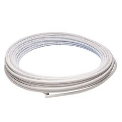 Jg Speedfit Pb Layflat Pipe Coil 15Mm X 50M White