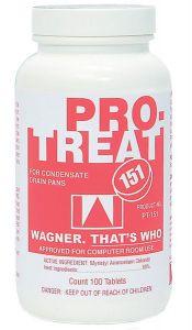 Pump House Protreat-151 Premium Condensate Drain Pan Treatment 100 Tablets Per Jar