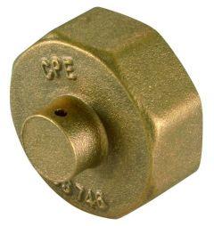 Bs746 Brass Gas Meter Cap 3/4