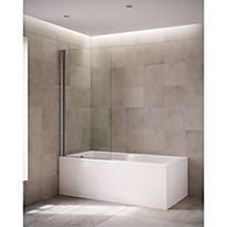 Mira Elevate 1 Panel Square Bathscreen