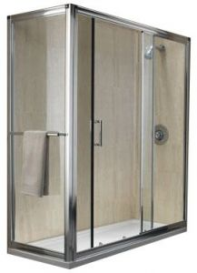 Essence Hinge & Inline 1200 Fixed Panel