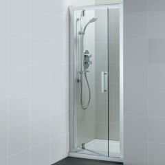 Ideal Standard Synergy L6203 Pivot Door 900Mm Silver/Clear Glass